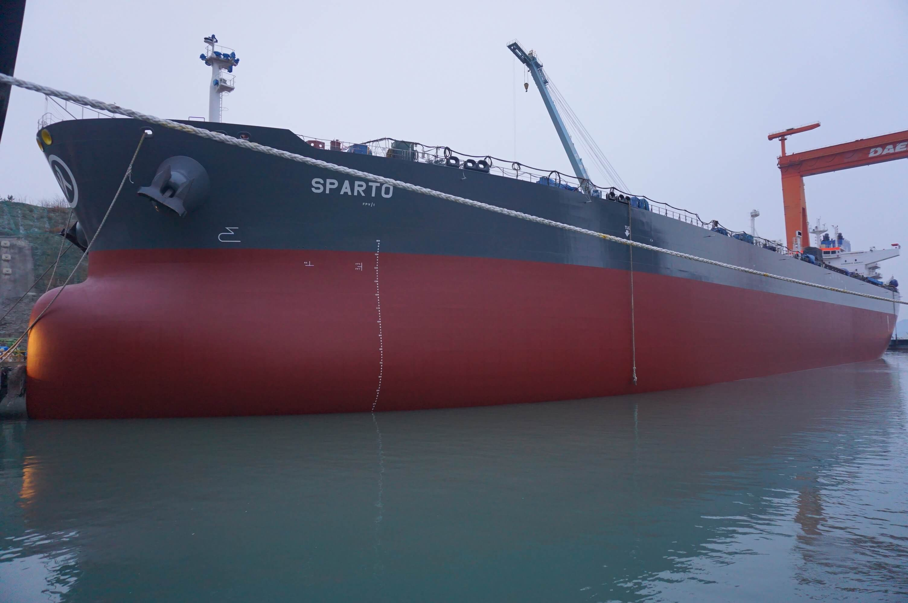 Delivery of M/T Sparto