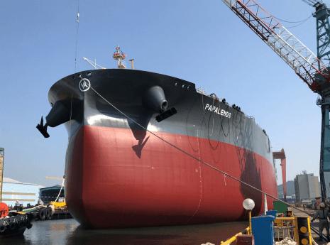 Launching of newbuilding VLCC H.N. 2959